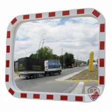 Зеркало DL 800х1000 мм уличное, со световозвращателями купить в Москве