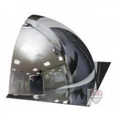 1/2 купольного сферического зеркала DL 600 мм с внешним напылением без канта купить в Москве