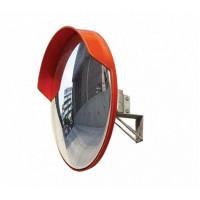 Зеркало 800 мм универсальное, с козырьком
